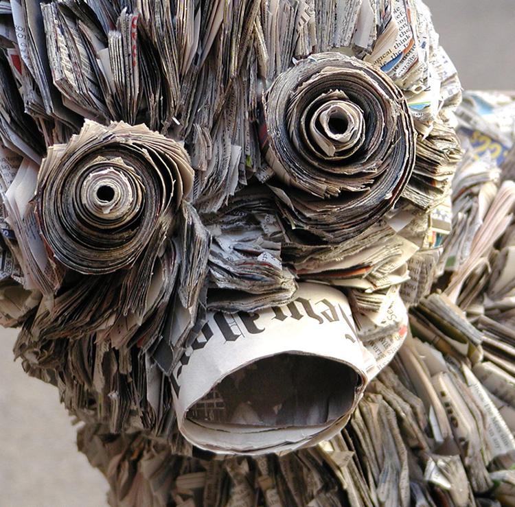 Le sculture di Nick Georgiou